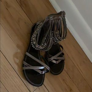 Bamboo sandals Size 7